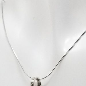 """unbranded Jewelry - Sterling silver cross pendant 18"""" chain"""
